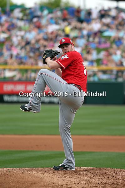 Blake Wood - Cincinnati Reds 2016 spring training (Bill Mitchell)