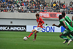 Korea Republic vs Saudi Arabia during the Olympic Qualifying 2012 Group A stage match on November 27, 2011 at the Seoul World Cup Stadium in Seoul, South Korea. Photo by World Sport Group