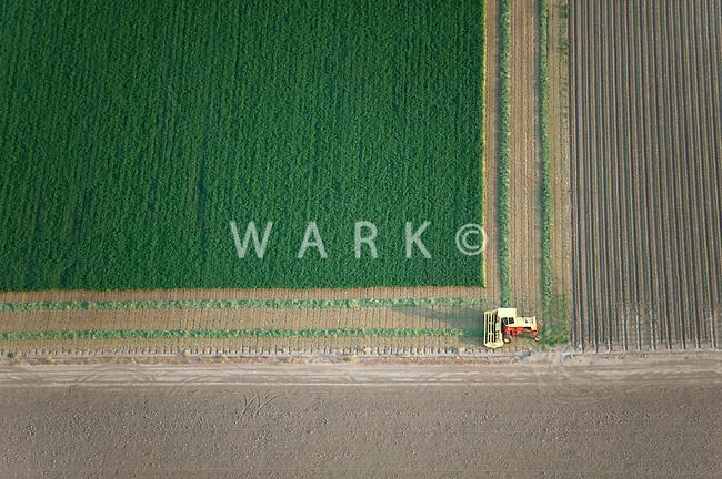 Tractor on field, Pueblo County, Colorado. June 2011