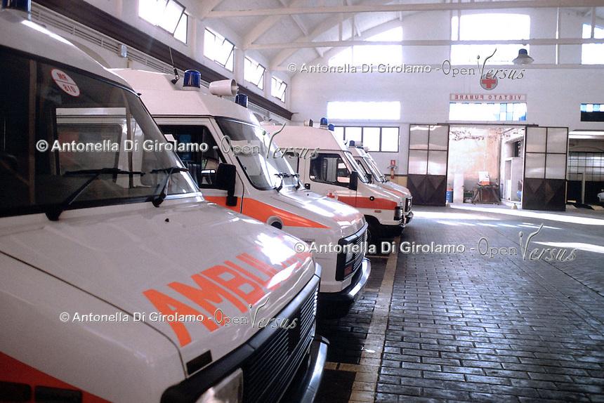Ambulanze. Ambulances....