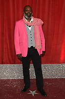 Trevor A Toussaint<br /> arriving for The British Soap Awards 2019 at the Lowry Theatre, Manchester<br /> <br /> ©Ash Knotek  D3505  01/06/2019