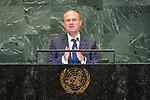 LOS general debate – 27 September<br /> <br /> PM<br /> <br /> His Excellency Joseph Muscat, Prime Minister, Republic of Malta