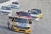 #4: Todd Gilliland, Kyle Busch Motorsports, Toyota Tundra Pedigree, #54: David Gilliland, DGR-Crosley, Toyota Tundra Frontline Enterprises Inc/CROSLEY Brands