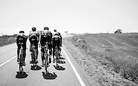 Team SKY on a stage 17 TT recon ride around Burgos<br /> <br /> restday 2<br /> 2015 Vuelta à Espagna