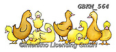 Kate, EASTER, OSTERN, PASCUA, paintings+++++Jumbled Ducks 4.,GBKM564,#e#, EVERYDAY ,ducks,