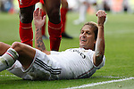 Real Madrid´s Michel Salgado during 2015 Corazon Classic Match between Real Madrid Leyendas and Liverpool Legends at Santiago Bernabeu stadium in Madrid, Spain. June 14, 2015. (ALTERPHOTOS/Victor Blanco)