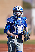 Cody Hamilton (51), from Sedro Woolley, Washington, while playing for the Dodgers during the Under Armour Baseball Factory Recruiting Classic at Gene Autry Park on December 30, 2017 in Mesa, Arizona. (Zachary Lucy/Four Seam Images)