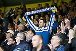 Kilmarnock fans celebrate safety in the Scottish Premiership