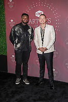 Kevin Olusola, Kane Brown attend the 2021 CMT Artist of the Year on October 13, 2021 in Nashville, Tennessee. Photo: Ed Rode/imageSPACE/MediaPunch