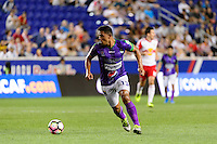 Harrison, NJ - Wednesday Aug. 03, 2016: Miguel Galindo during a CONCACAF Champions League match between the New York Red Bulls and Antigua at Red Bull Arena.