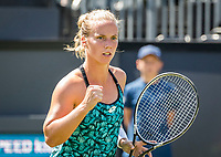 Den Bosch, Netherlands, 11 June, 2018, Tennis, Libema Open, Richel Hogenkamp (NED)<br /> Photo: Henk Koster/tennisimages.com