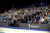 GRONINGEN - FIBA Basketbal-bubbel. Donar - Allianz Swans Gmunden seizoen 2021-2022, 29-09-2021,  weer publiek op de tribunes