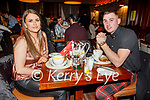 Sarah Daly and Neil O'Sullivan enjoying the evening in the Grand Hotel on Saturday.
