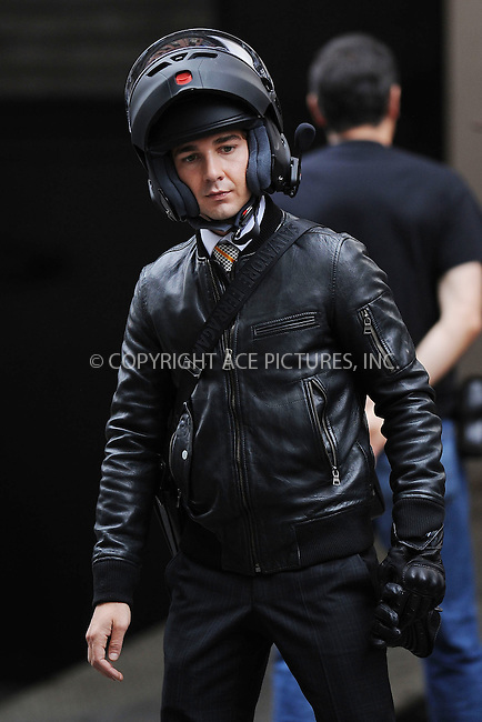 WWW.ACEPIXS.COM . . . . . ....September 16 2009, New York City....Actor Shia Labeouf on the set of the new movie 'Wall Street 2, Money never sleeps' on September 16 2009 in New York City....Please byline: KRISTIN CALLAHAN - ACEPIXS.COM.. . . . . . ..Ace Pictures, Inc:  ..tel: (212) 243 8787 or (646) 769 0430..e-mail: info@acepixs.com..web: http://www.acepixs.com