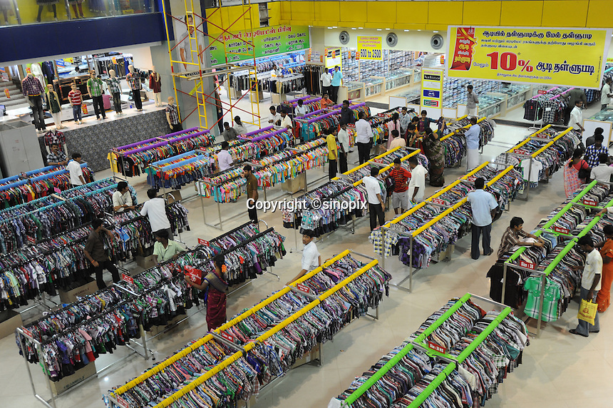 Shopping mall in Madras, India