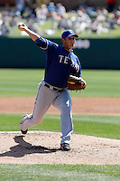 Doug Mathis    -Texas Rangers - 2009 spring training.Photo by:  Bill Mitchell/Four Seam Images
