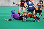Welsh Youth Hockey Cup Final U15 Girls<br /> Gwent v Whitchurch Saints<br /> Swansea University<br /> 06.05.17<br /> ©Steve Pope - Sportingwales