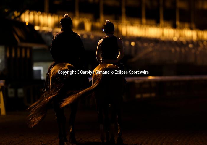 November 1, 2020: Scenes from around Keeneland Racetrack in Lexington, Kentucky on November 1, 2020.Carolyn Simancik/Eclipse Sportswire/Breeders Cup