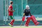 Mannheim, Germany, September 12: During the 1. Bundesliga men fieldhockey match between Mannheimer HC and Hamburger Polo Club on September 12, 2020 at Am Neckarkanal in Mannheim, Germany. Final score 2-0. (Copyright Dirk Markgraf / www.265-images.com) *** Niklas Garst #30 of Hamburger Polo Club