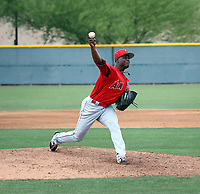 Dazon Cole - Los Angeles Angels 2019 extended spring training (Bill Mitchell)