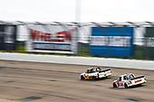 #2: Sheldon Creed, GMS Racing, Chevrolet Silverado Chevrolet Accessories, #17: Raphael Lessard, DGR-Crosley, Toyota Tundra RESEAU Dynamique.com / FRL Express INC.