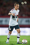 Rafinha of Bayern Munich in action during the Bayern Munich vs Guangzhou Evergrande as part of the Bayern Munich Asian Tour 2015  at the Tianhe Sport Centre on 23 July 2015 in Guangzhou, China. Photo by Aitor Alcalde / Power Sport Images