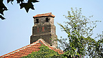 Chimney And Roof On A Consular Building In Weihai (Weihaiwei).