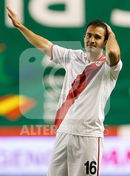 Rayo Vallecano's Emiliano Daniel Armenteros during La Liga match.March 17,2012. (ALTERPHOTOS/Acero)