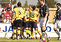05/08/2006        Copyright Pic: James Stewart.File Name : sct_jspa02_falkirk_v_dunfermline.DARREN BARR CELEBRATES SCORING FALKIRK'S FIRST...Payments to :.James Stewart Photo Agency 19 Carronlea Drive, Falkirk. FK2 8DN      Vat Reg No. 607 6932 25.Office     : +44 (0)1324 570906     .Mobile   : +44 (0)7721 416997.Fax         : +44 (0)1324 570906.E-mail  :  jim@jspa.co.uk.If you require further information then contact Jim Stewart on any of the numbers above.........