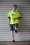 Red Bull Athlete Chiao Cheng poses for a photograph during the Wings for Life World Run on 08 May, 2016 in Yilan, Taiwan. Photo by Victor Fraile / Power Sport Images