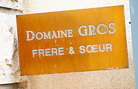 domaine gros f & s vosne-romanee cote de nuits burgundy france