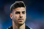 Marco Asensio Willemsen of Real Madrid warms up prior to the La Liga 2017-18 match between Real Madrid and Athletic Club Bilbao  at Estadio Santiago Bernabeu on April 18 2018 in Madrid, Spain. Photo by Diego Souto / Power Sport Images