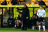 7th November 2020; Carrow Road, Norwich, Norfolk, England, English Football League Championship Football, Norwich versus Swansea City; Norwich City Manager Daniel Farke