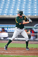 Chase Hamilton #26 of Arlington High School in Arlington, Tennessee playing for the Oakland Athletics scout team during the East Coast Pro Showcase at Alliance Bank Stadium on August 1, 2012 in Syracuse, New York.  (Mike Janes/Four Seam Images)