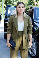 NEW YORK, NY- SEPTEMBER 10: Olivia Holt seen at the NYFW S/S 2022 Michael Kors fashion show at Tavern On The Green in New York City on September 10, 2021. Credit: RW/MediaPunch<br /> CAP/MPI/RW<br /> ©RW/MPI/Capital Pictures