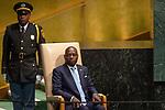 LOS general debate – 27 September<br /> <br /> PM<br /> <br /> Guinea-Bissau<br /> H.E. Mr. José Mário Vaz<br /> President