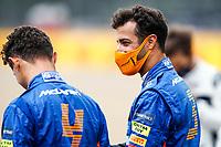 15th July 2021, Silverstone Circuit, Northampton, England;  RICCIARDO Daniel (aus), McLaren MCL35M NORRIS Lando (gbr), McLaren MCL35M during the Formula 1 Pirelli British Grand Prix 2021, 10th round of the 2021 FIA Formula One World Championship