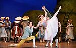 LA FILLE MAL GARDEE....Choregraphie : ASHTON Frederick..Compositeur : HEROLD Louis joseph Ferdinand..Compagnie : Ballet de l Opera National de Paris..Orchestre : Orchestre de l Opera National de Paris..Decor : LANCASTER Osbert..Lumiere : THOMSON George..Costumes : LANCASTER Osbert..Avec :..OULD BRAHAM Myriam..HEYMANN Mathias..VALASTRO Simon..Lieu : Opera Garnier..Ville : Paris..Le : 26 06 2009..© Laurent PAILLIER / www.photosdedanse.com..All rights reserved