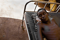 20 year-old Abdi Hassan, a nomadic camel herder was beaten to a point of paralysis by al-Shabaab soldiers when he refused to allow them to take some of his camels as a tax. He fled Salagale by road with his wife and  other relatives to Ifo Camp, near Dadaab, Kenya in May 2010. He has been in the hospital since arriving in Kenya.