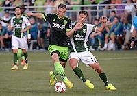 Seattle Sounders vs Portland Timbers, July 9, 2014