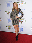 Paris Hilton attends Totem from Cirque du Soleil Premiere at Santa Monica Pier in Santa Monica, California on January 21,2014                                                                               © 2014 Hollywood Press Agency