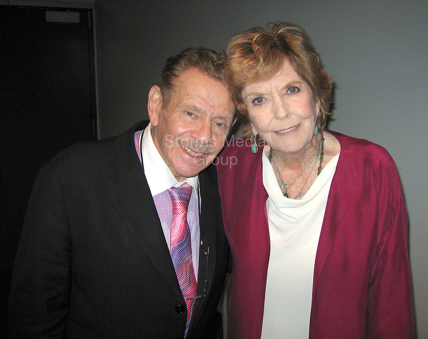 FORT LAUDERDALE, FL - JANUARY 11: (EXCLUSIVE COVERAGE) Jerry Stiller and Anne Meara onJanuary 11, 2006 in Fort Lauderdale, Florida.<br /> <br /> People:  Jerry Stiller; Anne Meara