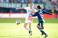 Kansas City, KS- Thursday July 26, 2018: 2018 Tournament of Nations match between the women's national teams of the United States (USA) and Japan (JPN) at the Children's Mercy Park