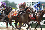 June 8, 2013. #7 Forty Tales, Joel Rosario up, wins the Grade II Woody Stephens Stakes, seven furlongs on the dirt for three year olds, at Belmont Park, Elmont, New York (Joan Fairman Kanes/Eclipse Sportswire)