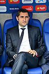 League BBVA 2015/2016 - Game: 30.<br /> RCD Espanyol vs Athletic Club: 2-1.<br /> Ernesto Valverde.