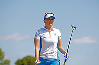6th September 2021: Toledo, Ohio, USA;  Nanna Koertz Madsen of Team Europe putts on the first hole during her singles match in the Solheim Cup on September 6, 2021 at Inverness Club in Toledo, Ohio.