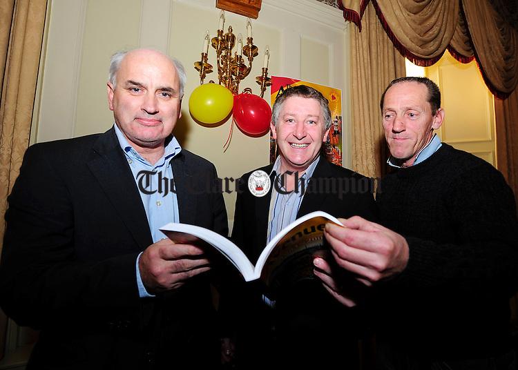 Brian Donlon, Gearoid mannion and Noel Purthill.Pic Arthur Ellis.