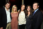 From left: Justin Schnorr, Katie Beaudoin, Disney Hanka, Hallie Kuntz and John Daugherty III at the Simon Fashion Now event at the Houston Galleria Thursday April 14,2011.(Dave Rossman/For the Chronicle)