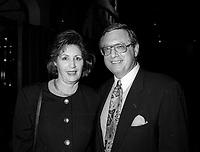 FILE -  Le relationiste de Presse David Novek et son epouse a l' Ouverture du FFM le 25 aout 1994<br /> <br /> PHOTO : Agence Quebec Presse