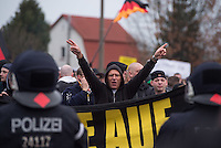 2014/11/22 Berlin | Rechtsradikale versuchen Demonstration gegen Flüchtlinge
